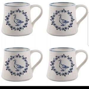 Stoneware 20 oz Duck Design Mug